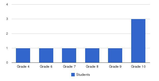 Pines Christian Academy Students by Grade