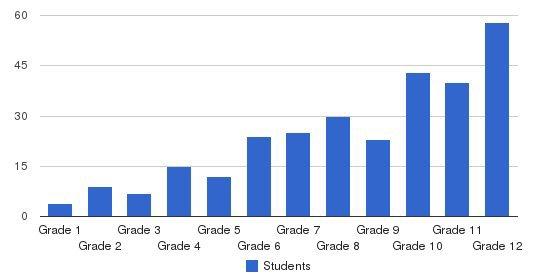 The Hallen School Students by Grade