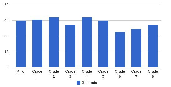 The McGillis School Students by Grade