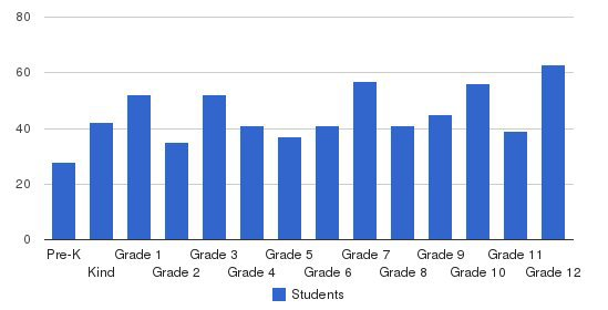 Island Pacific Academy Students by Grade