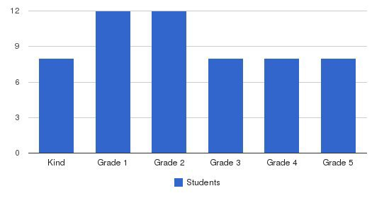 Helios New School Students by Grade