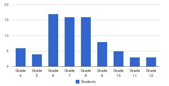 Cumberland Academy of Georgia Students by Grade