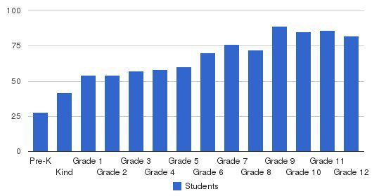 Colorado Academy Students by Grade