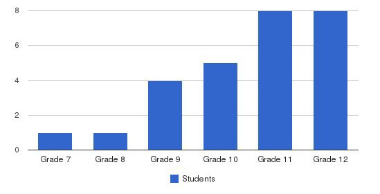 School For Independent Learners Students by Grade