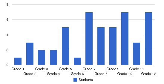 Spring Academy Students by Grade