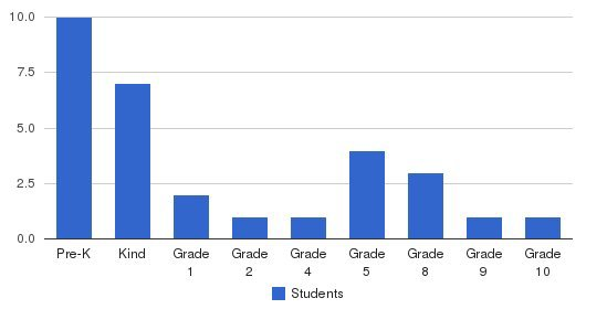 Africa-care Academy Students by Grade