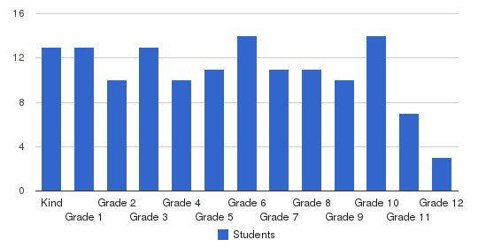 Charlotte Islamic Academy Students by Grade