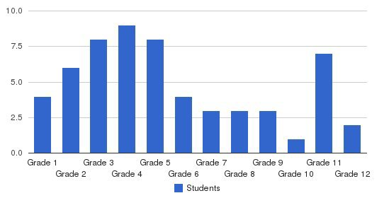 Custom Learning Academy Students by Grade
