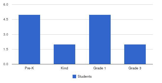 American Montessori Academy Students by Grade