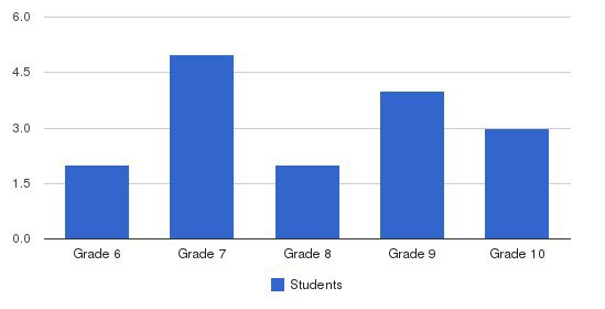 The Academy Students by Grade