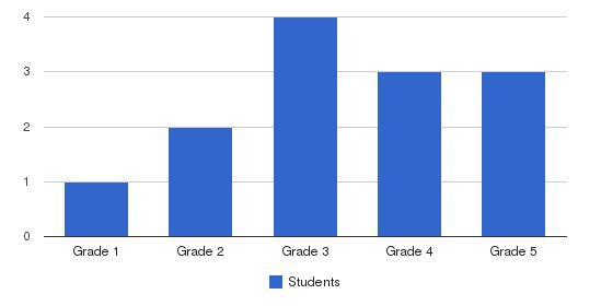 The Reading Clinic Students by Grade