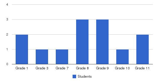 Virtue Academy Students by Grade