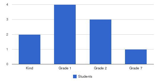Iqra Academy Students by Grade
