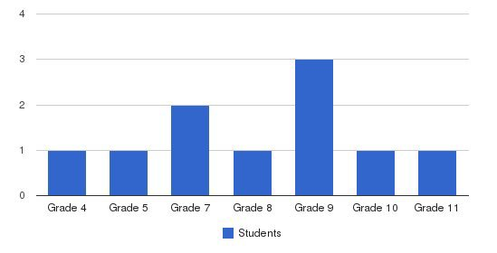 Stone Bridge Academy Students by Grade