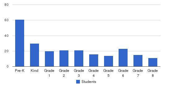 Mountain View Montessori School Students by Grade