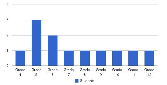 Autism Academy Students by Grade