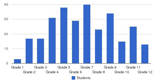 AIM Academy Students by Grade