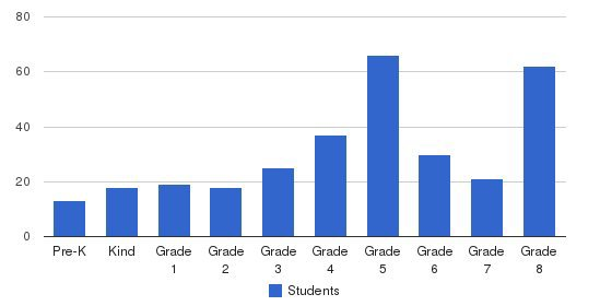 St Stephen Martyr School Students by Grade