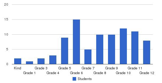 Stanbridge Academy Students by Grade