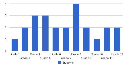 True Faith Academy Students by Grade