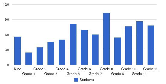 Colorado Springs Christian Students by Grade