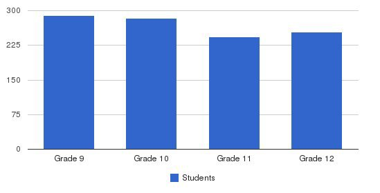 St. Johns College High School Students by Grade