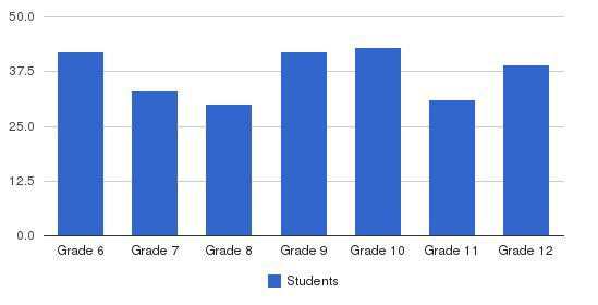 Beth Jacob High School Students by Grade