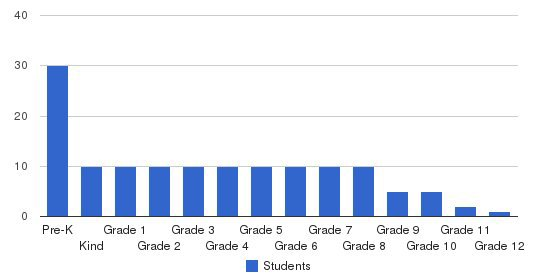 New Gate School Students by Grade