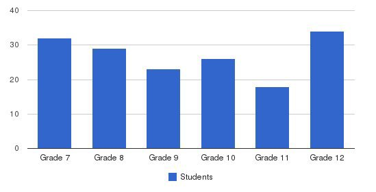 St. Anthony Jr/sr High School Students by Grade