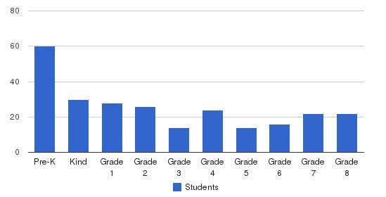 Mount Carmel Academy Students by Grade