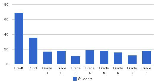 St John Berchmans School Students by Grade