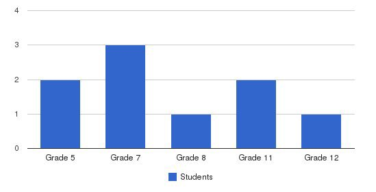 The Power Think Academy Students by Grade