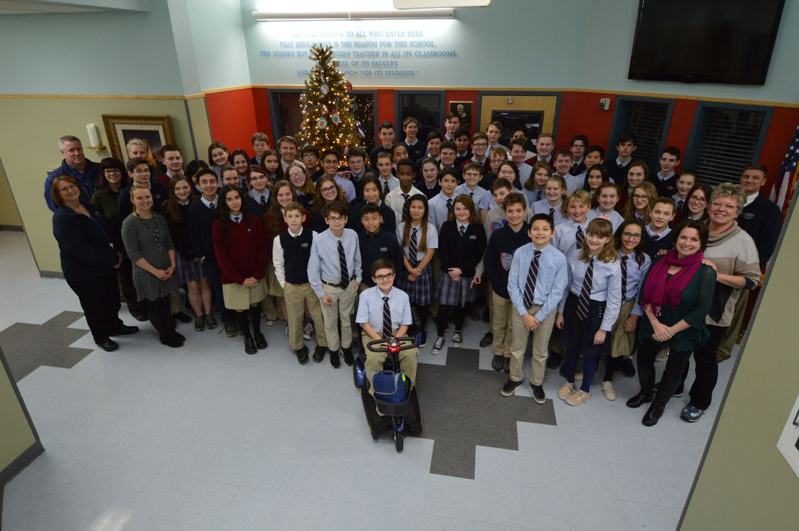 Lumen Christi Catholic High School Photo - Our awesome school community
