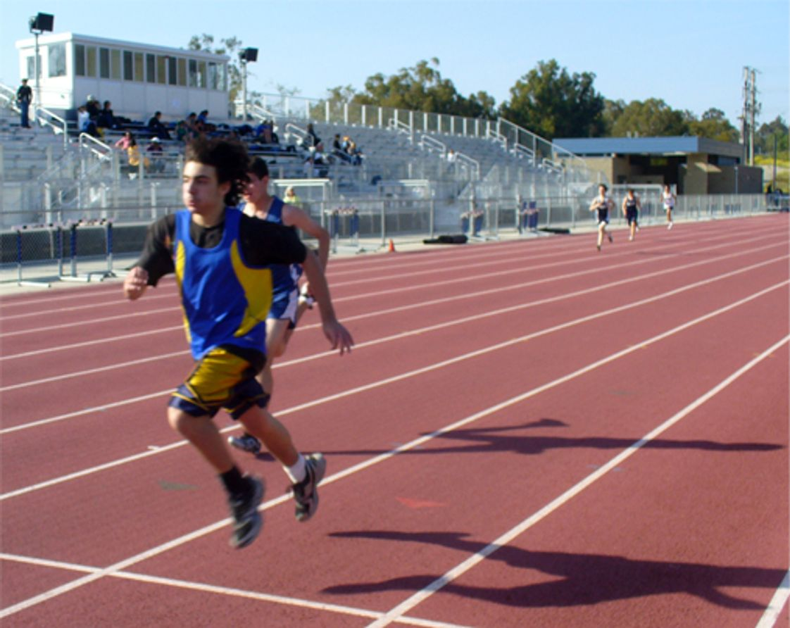 Bridges Academy Photo - Although Bridges Academy has only 145 students, the school still boasts competitive CIF Cross Country, Track & Field and Basketball teams.