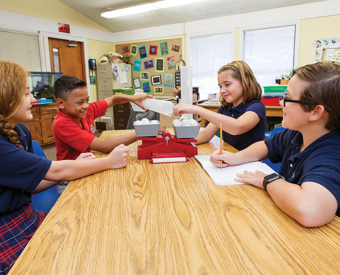 St Marks Day School Photo #1 - Dynamic science program with lab instruction beginning in Kindergarten
