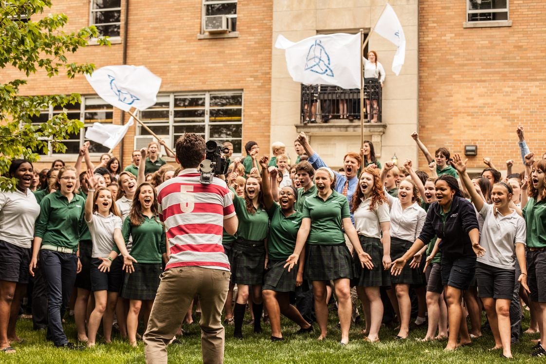 Trinity School At Greenlawn Photo - A love for music is evident at Trinity. Students combined their love of the school and their love of Les Miserables into the school's first music video. See it here: http://www.youtube.com/watch?v=laL9du84rac.