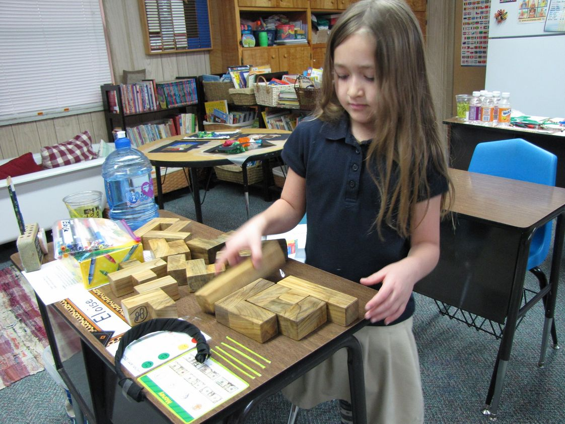 Appalachian Christian Academy Photo - Hands-on Math
