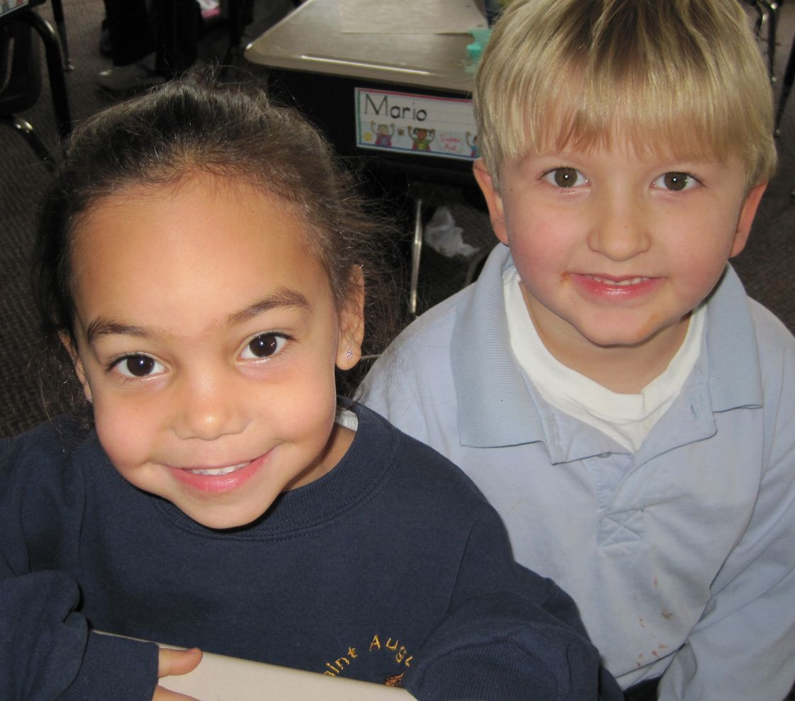 St. Augustine School Photo - Building Friendships!