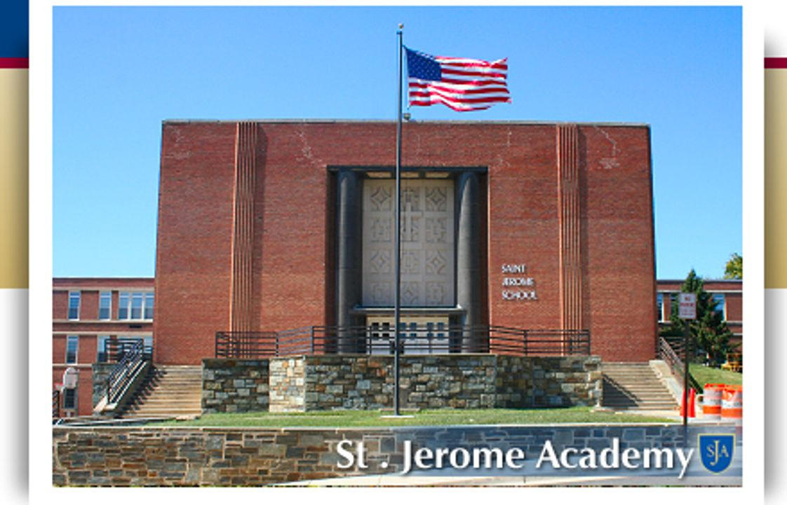 St. Jerome Academy Photo - 43rd Avenue Entrance