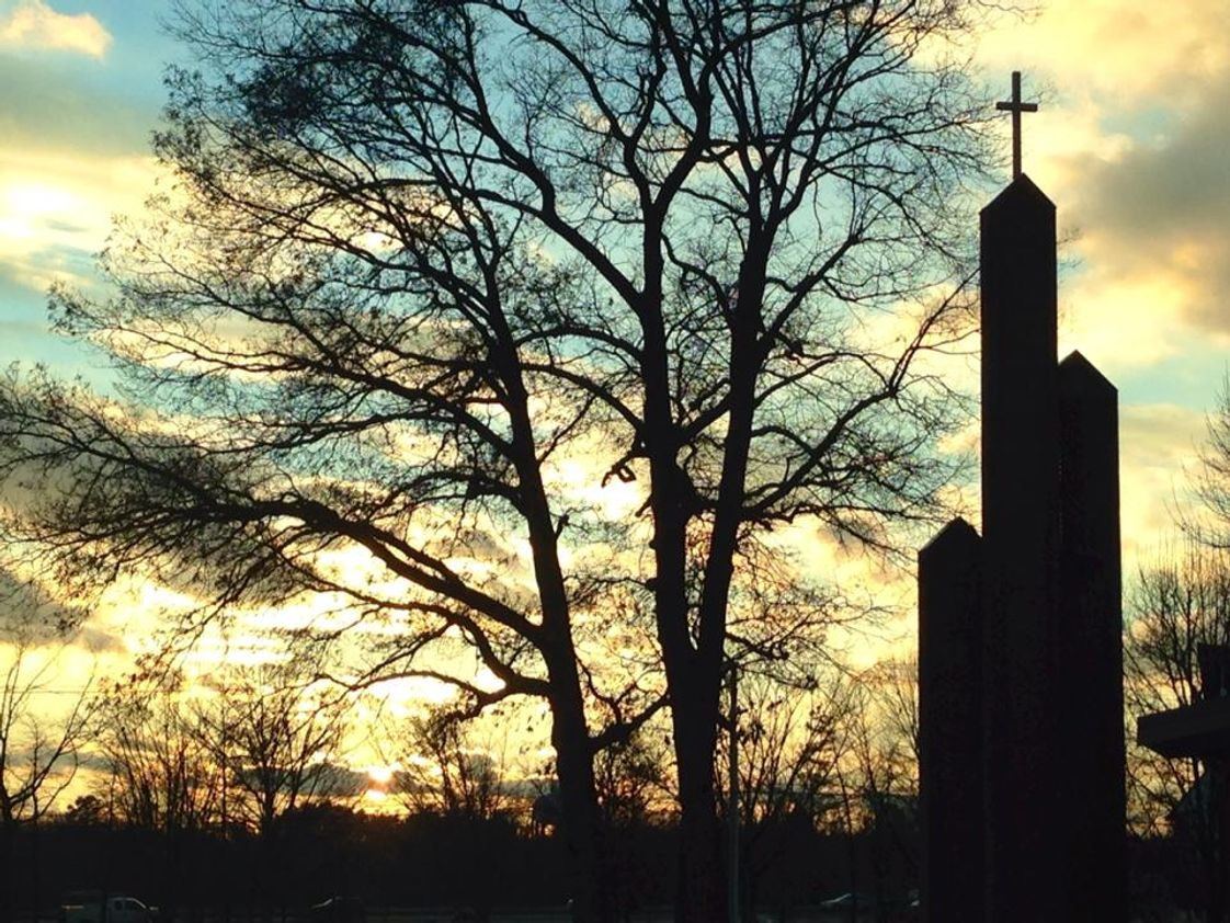 St Pauls Lutheran School Photo - St. Paul's at sunset.
