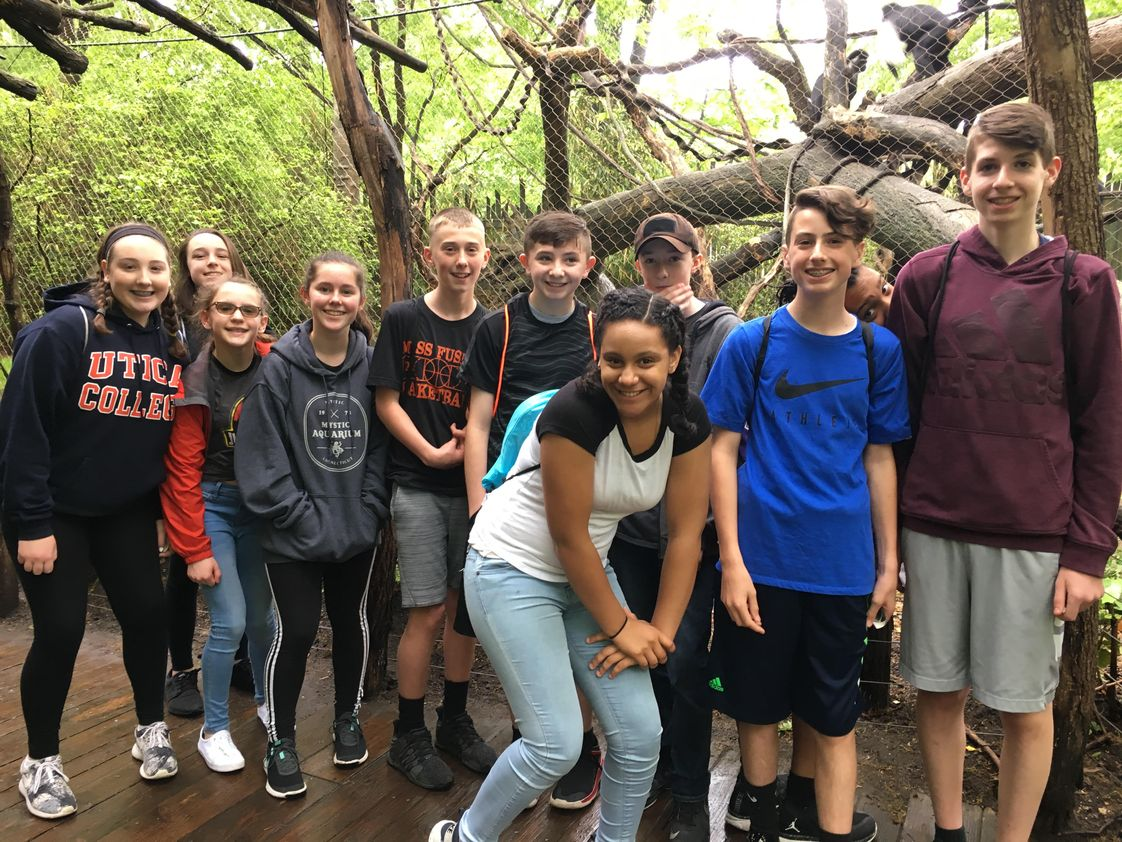 Blessed Sacrament School Photo - Our Middle School students enjoyed an awesome day at the Bronx Zoo!