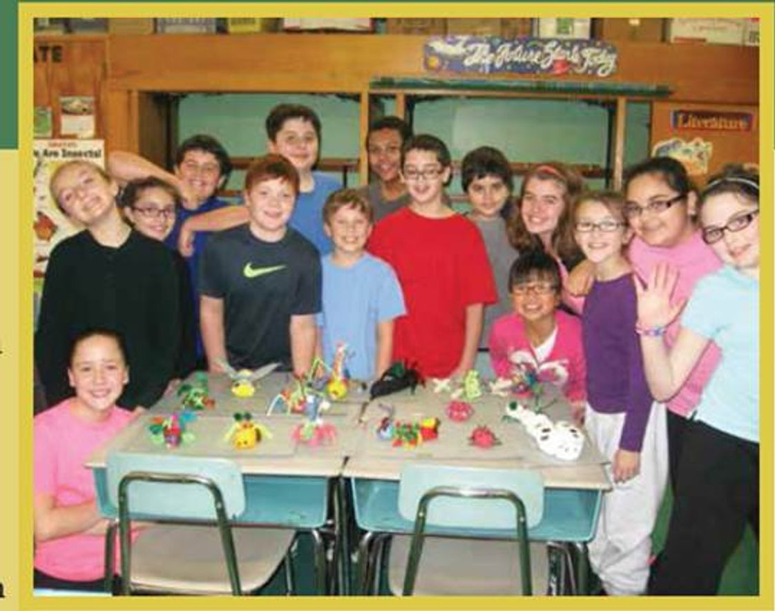Our Lady Of Lourdes School Photo #1 - 5th Grade Students showcase their science projects.
