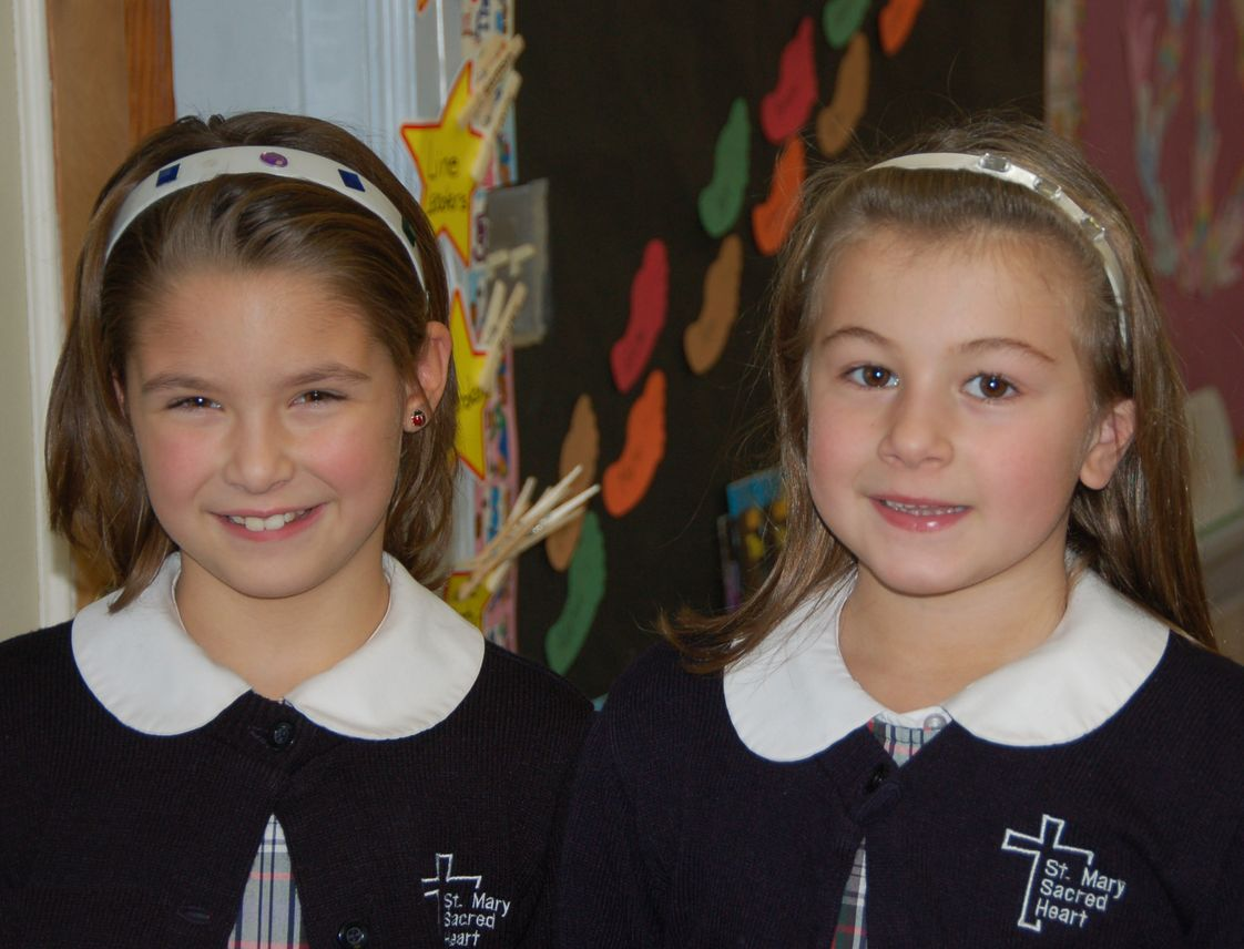 St Mary-sacred Heart School Photo #1 - Happy students.