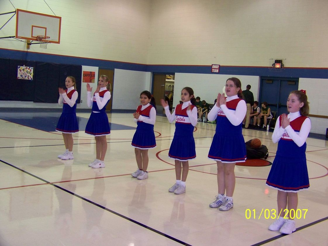 Emanuel Lutheran School Photo - Cheerleaders
