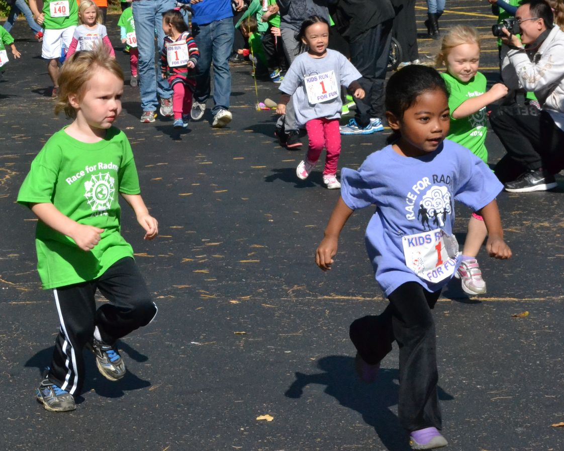 "Montessori Radmoor School Photo #1 - We held our 2nd Annual ""Race for Radmoor"" in the Fall. This 5K had almost 100 participants in our Toddler Trot, Montessori Mile and 5K event!"