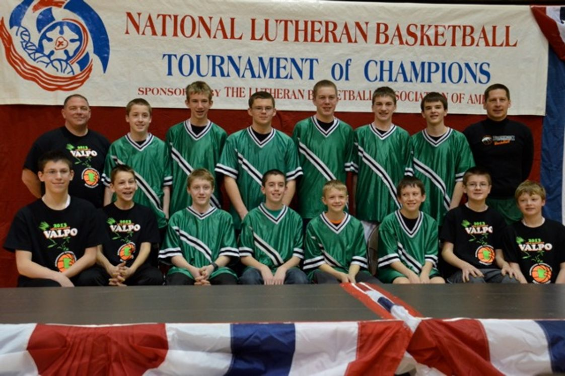 Bloomington Lutheran School Photo - Bloomington Lutheran Boys had a winning season which took them to Valparaiso, IN for Nationals.