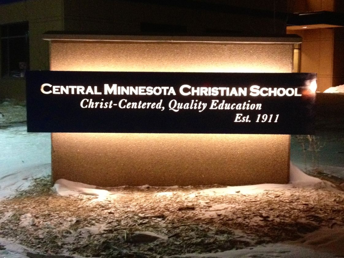 Central Minnesota Christian School Photo - New CMCS Sign