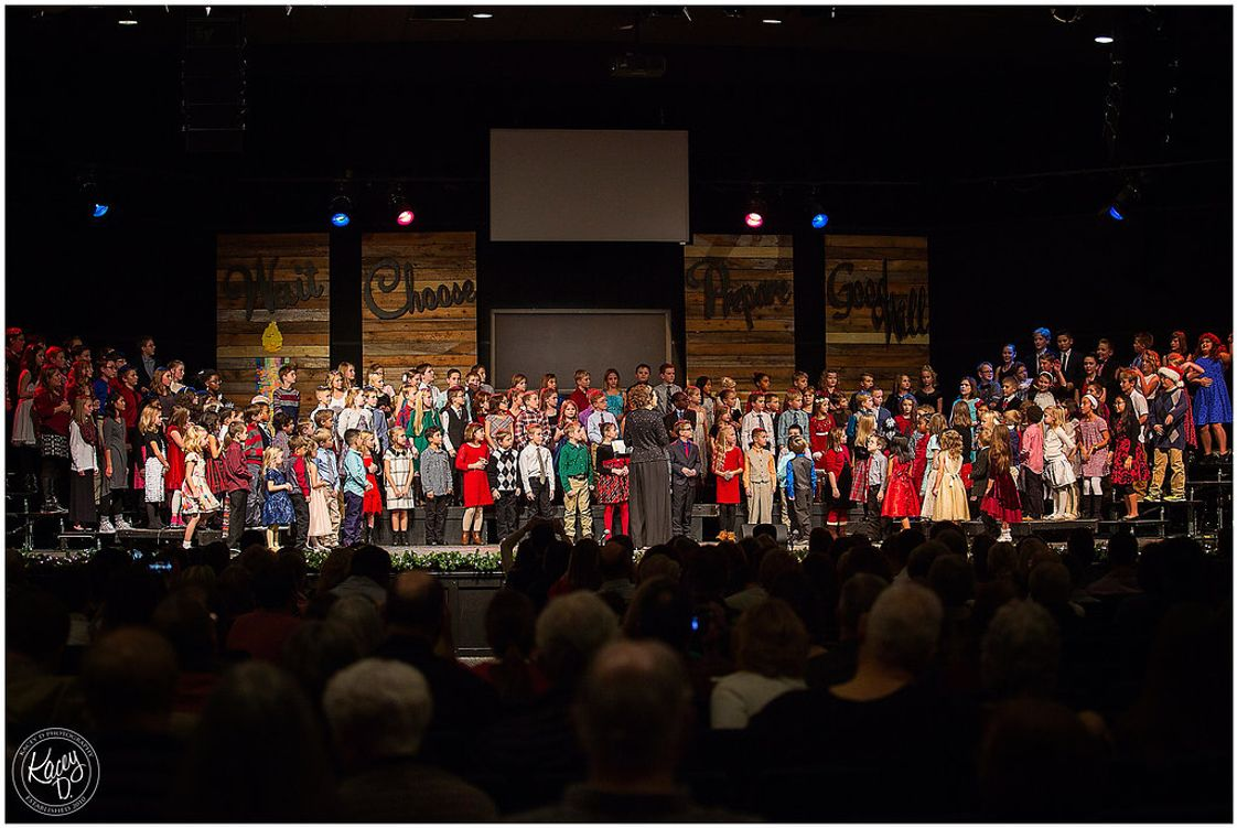 Christian Fellowship School Photo - One of our favorite traditions is the elementary Christmas program.