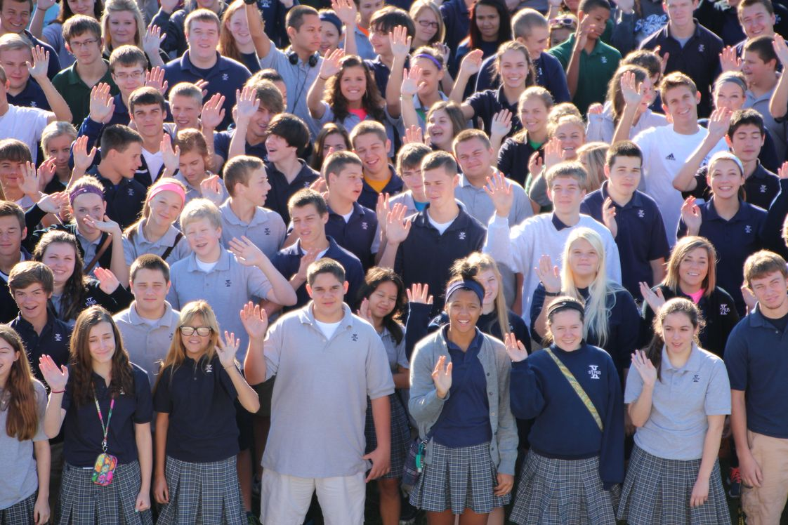 St. Pius X High School Photo #1 - St. Pius X students hope to see you soon!