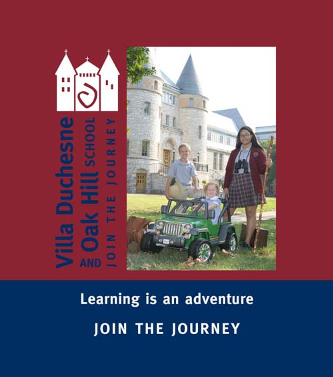 Villa Duchesne & Oak Hill School Photo - Learning is an adventure.